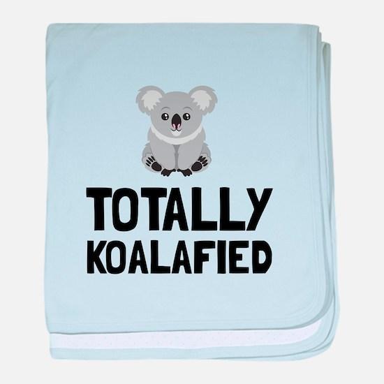 Totally Koalafied baby blanket