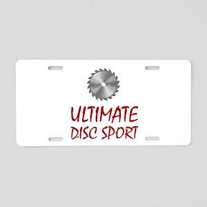 Ultimate Disc Sport Aluminum License Plate