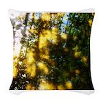 Light messengers Woven Throw Pillow