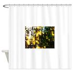 Light messengers Shower Curtain