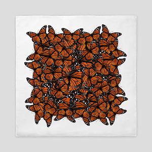 Countless Monarch Butterflies Queen Duvet