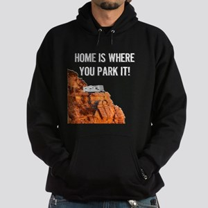 Home Is Where You Park It - Travel T Hoodie (dark)