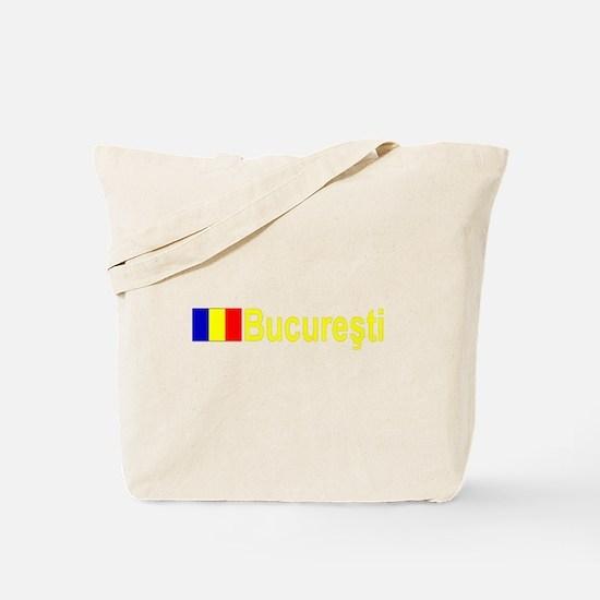 Bucuresti, Romania Tote Bag