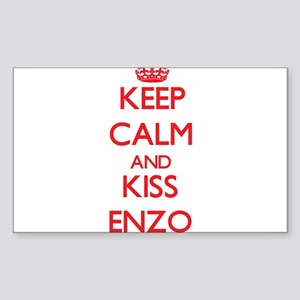 Keep Calm and Kiss Enzo Sticker