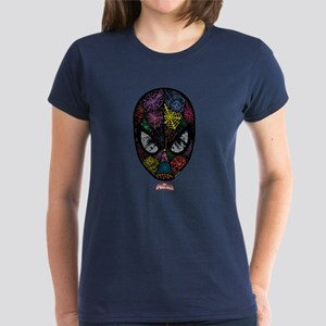 Spiderman Face Women's Dark T-Shirt