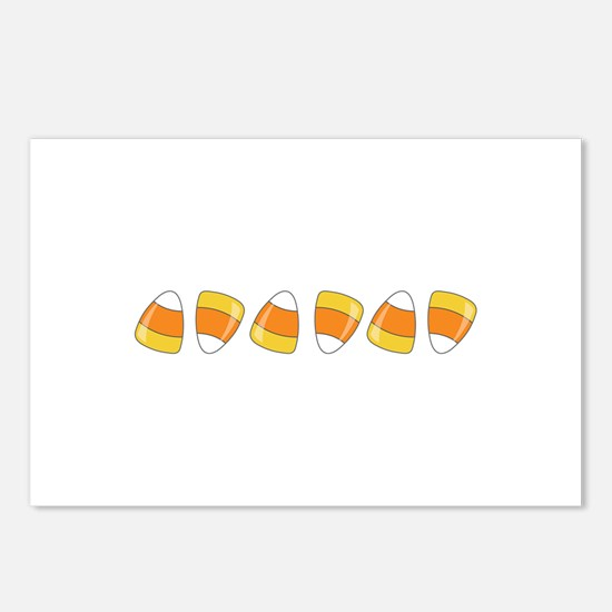 Halloween Candy Postcards (Package of 8)