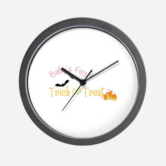 Babys First Wall Clock