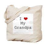 I Heart My Grandpa Tote Bag