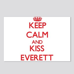 Keep Calm and Kiss Everett Postcards (Package of 8
