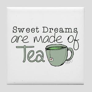 Made of Tea Tile Coaster
