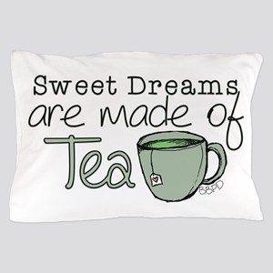 Made of Tea Pillow Case