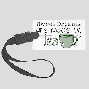 Made of Tea Luggage Tag
