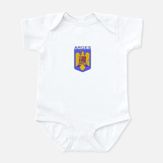 Arges, Romania Infant Bodysuit