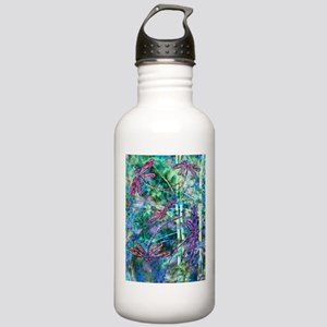 Dragonflies Forest Light Sports Water Bottle