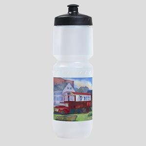 Gilleys Diner Portsmouth NH Sports Bottle