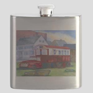 Gilleys Diner Portsmouth NH Flask