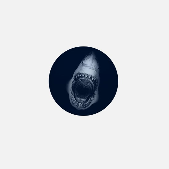 Shark Bite Mini Button