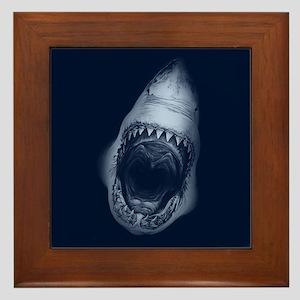 Shark Bite Framed Tile