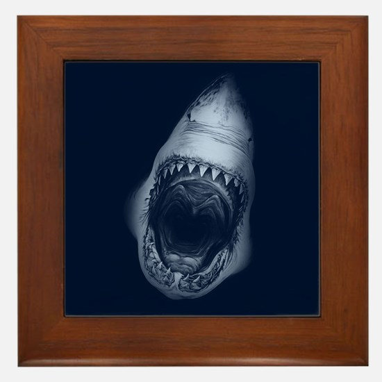 Shark Bite Framed Tile