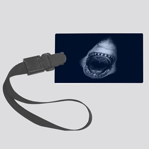 Shark Bite Luggage Tag