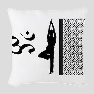 Namaste Woven Throw Pillow