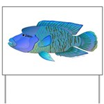 Humphead Wrasse Yard Sign