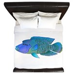 Humphead Wrasse King Duvet