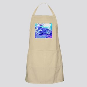 Abstract Cat Apron