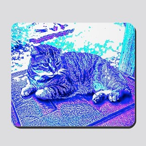 Abstract Cat Mousepad
