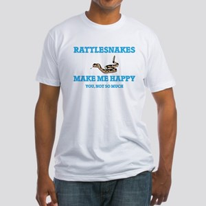 Rattlesnakes Make Me Happy T-Shirt