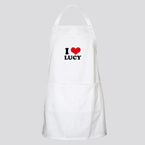 I Heart Lucy BBQ Apron