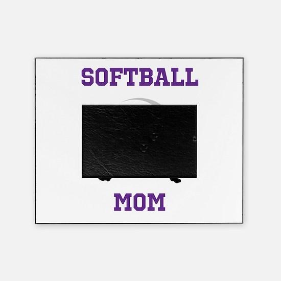 Softball Mom tshirt Picture Frame