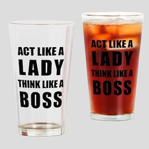 Drinking Glass - Classic B&w