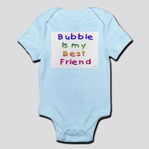 Jewish Bubbie is my Best Friend Infant Bodysuit