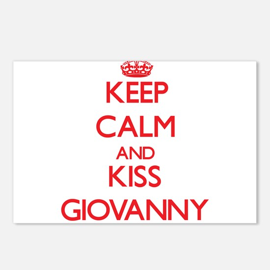 Keep Calm and Kiss Giovanny Postcards (Package of
