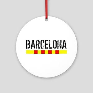 Catalunya: Barcelona Ornament (Round)