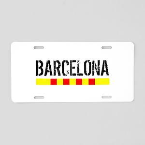 Catalunya: Barcelona Aluminum License Plate