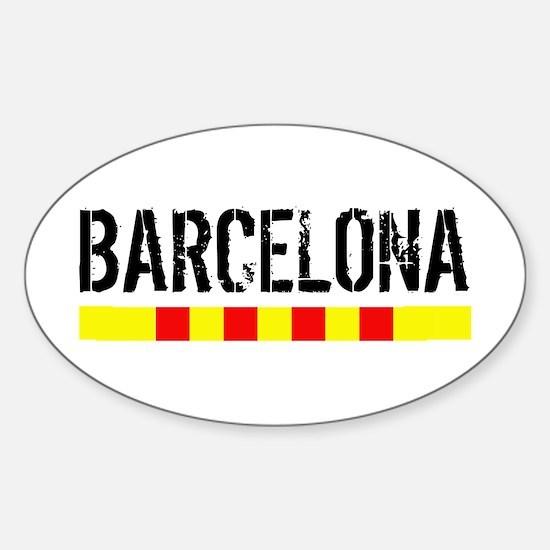 Catalunya: Barcelona Decal