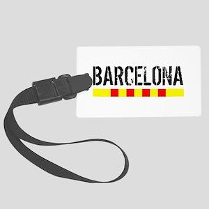 Catalunya: Barcelona Luggage Tag