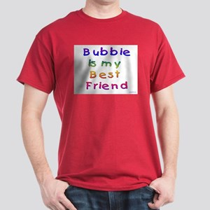 Jewish Bubbie is my Best Friend Dark T-Shirt