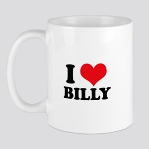 I Heart Billy Mug