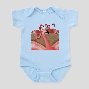 Flamingo Photo Bomb Body Suit