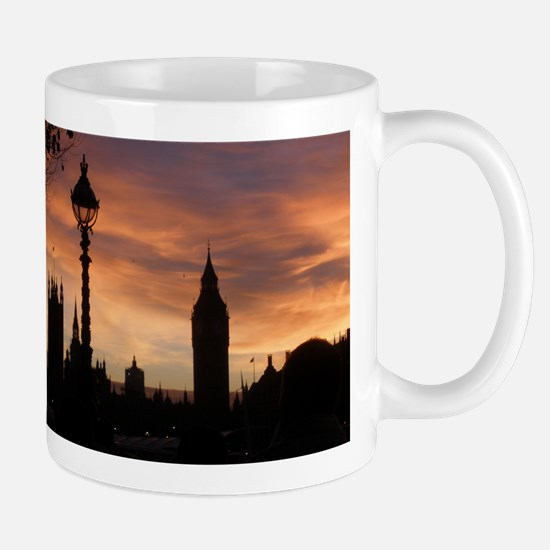 London at Dusk Mugs