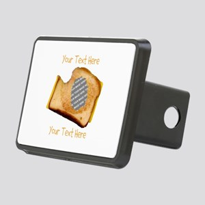 YOUR FACE Grilled Cheese S Rectangular Hitch Cover