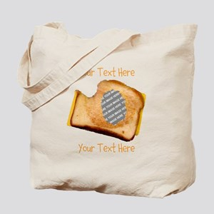 YOUR FACE Grilled Cheese Sandwich Tote Bag