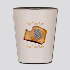 YOUR FACE Grilled Cheese Sandwich Shot Glass