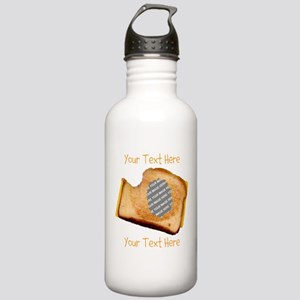 YOUR FACE Grilled Chee Stainless Water Bottle 1.0L