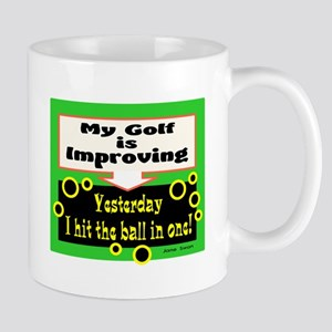 My Golf Is Improving/Jane Swan/ Mugs