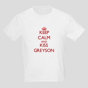 Keep Calm and Kiss Greyson T-Shirt