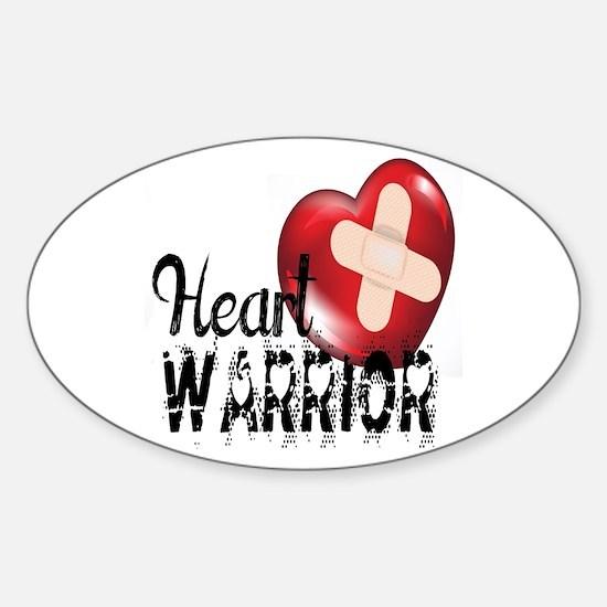 heart warrior Decal